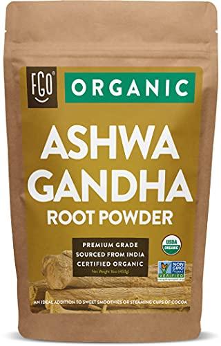 Organic Ashwagandha Root Powder  ...