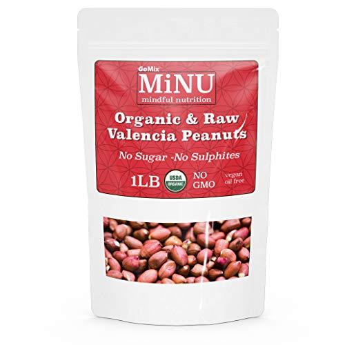 MiNU Organic Raw Valencia Peanuts...