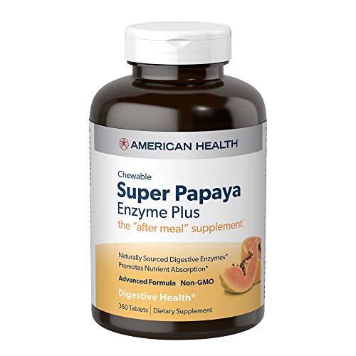 American Health Super Papaya Enzyme...
