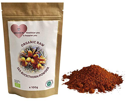 Organic Raw Sea Buckthorn Powder -...