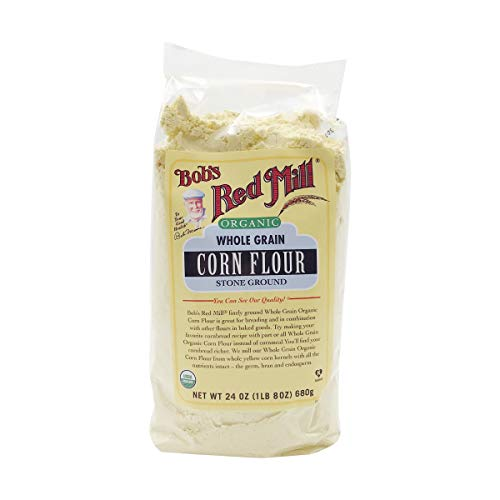 Bob's Red Mill Organic Corn Flour -...