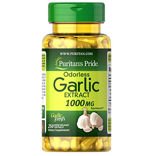 Puritan's Pride Odorless Garlic...