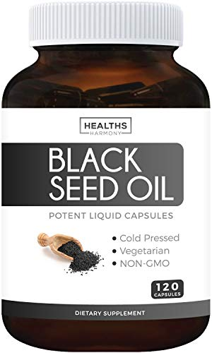 Black Seed Oil - 120 Softgel...