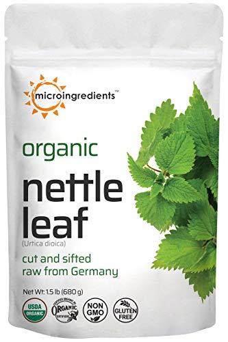 Organic Nettle Leaf, Dried Cut and...