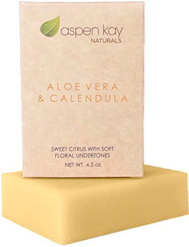 Aloe Vera & Calendula Soap, Natural...