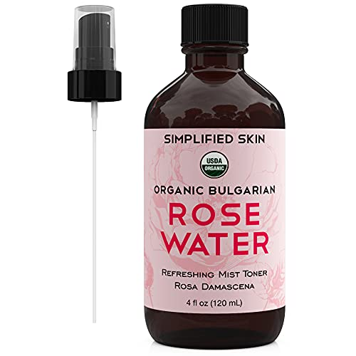 Rose Water for Face & Hair, USDA...
