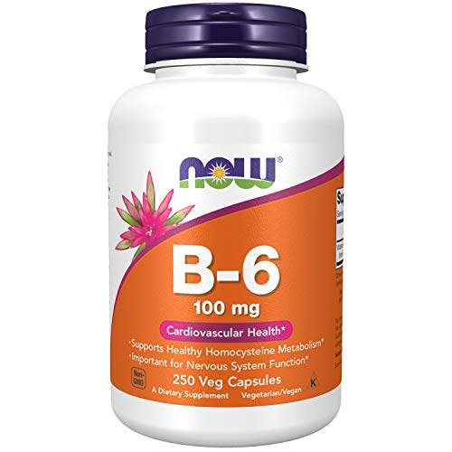 NOW Supplements, Vitamin B-6...