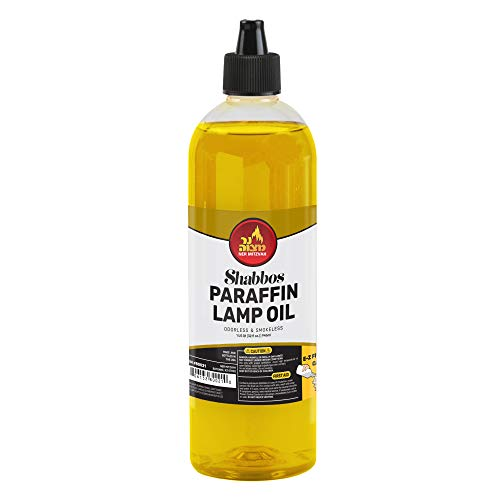 Ner Mitzvah Paraffin Lamp Oil -...
