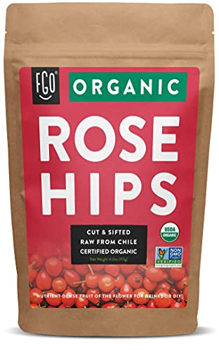 Organic Rosehips   Cut & Sifted  ...