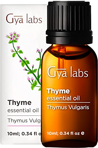 Gya Labs Thyme Essential Oil for...