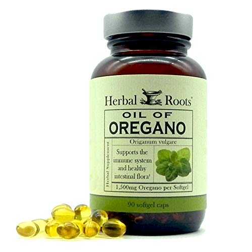 Herbal Roots Oil of Oregano - Made...