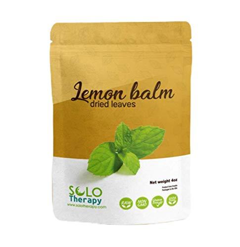 Certified Organic Lemon Balm Dried...