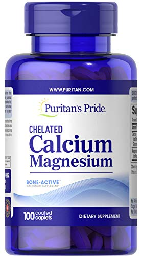 Puritan's Pride Chelated Calcium...