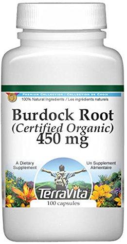 Burdock Root (Certified Organic) -...