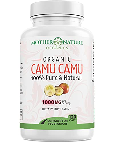 Organic Camu Camu Berry Capsules -...