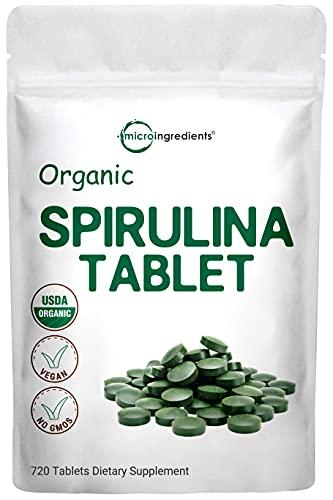 Organic Spirulina Supplement (Raw...