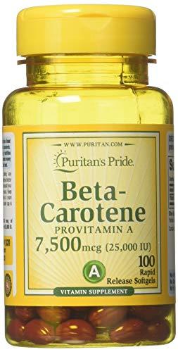 Beta Carotene for Immune and Eye...