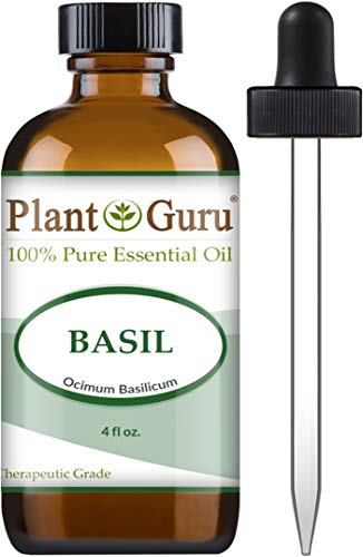 Basil Essential Oil 4 oz 100% Pure...