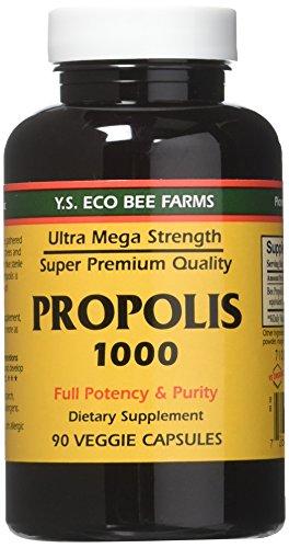 YS Eco Bee Farms Propolis 1000 - 90...