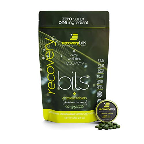 RECOVERYbits Pure Chlorella Tablets...