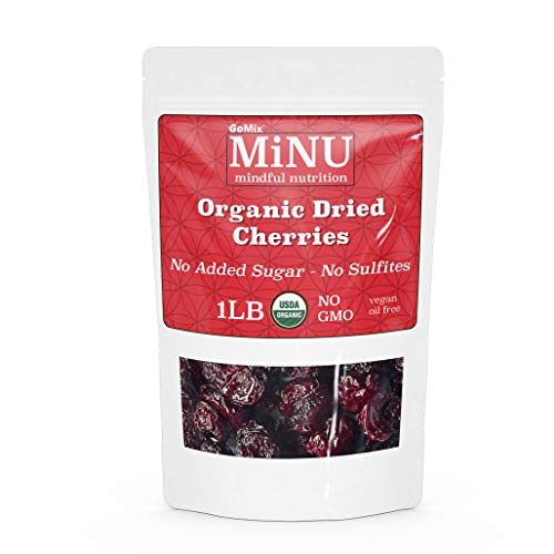 MiNU Organic Dried Tart Cherries...