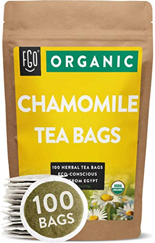 Organic Chamomile Tea Bags   100...