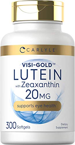 Lutein and Zeaxanthin 20mg   300...