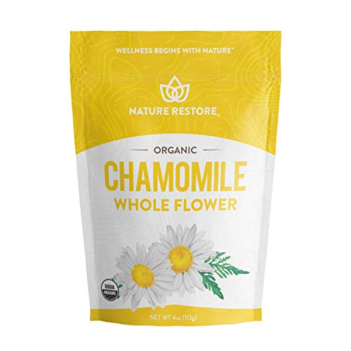 Organic Chamomile Whole Flower,...