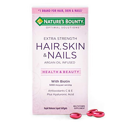 Extra Strength Hair Skin and Nails...