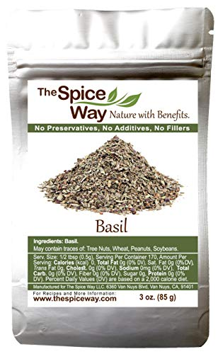 The Spice Way Basil Leaves - ( 3 oz...