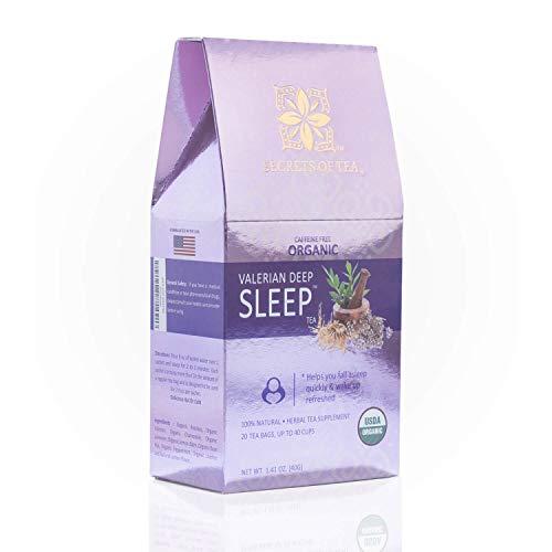 Secrets Of Tea Valerian Sleep Tea -...