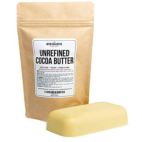 Unrefined Cocoa Butter - Use on...