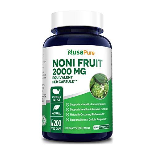 Noni Fruit 2000mg 200 Vegetarian...