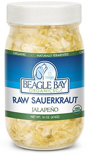 Organic Raw Sauerkraut - Jalapeno
