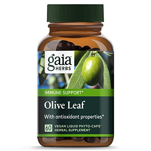Gaia Herbs Olive Leaf, Vegan Liquid...