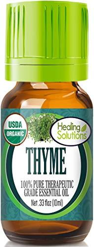 Organic Thyme Essential Oil (100%...