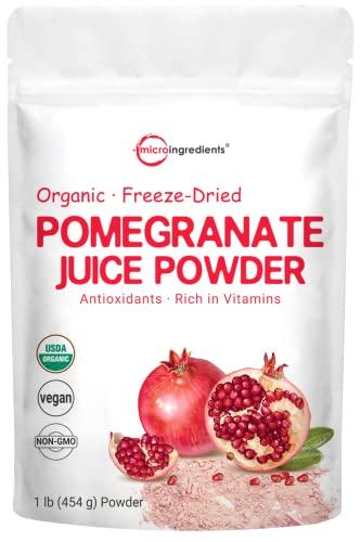 Organic Pomegranate Juice Powder, 1...