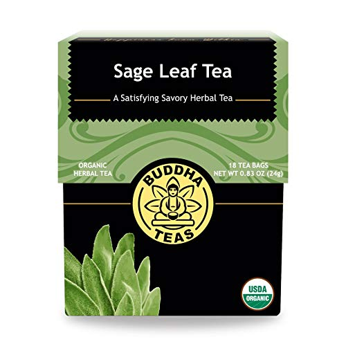 Buddha Teas Organic Sage Leaf Tea |...