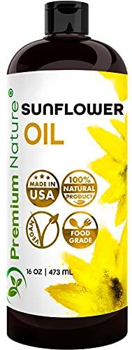 Sunflower Oil Cold Pressed -...