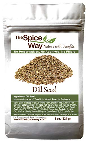The Spice Way Dill Seed - seeds for...