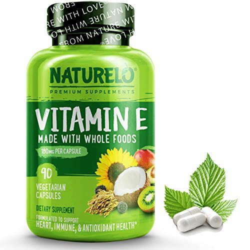 NATURELO Vitamin E - 180 mg (300...
