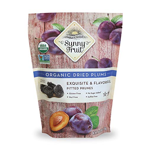 ORGANIC Pitted Prunes - Sunny Fruit...