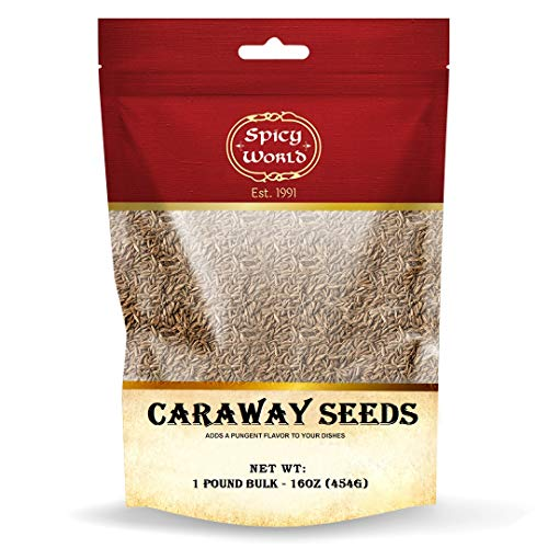 Caraway Seeds Whole 1 Pound (16...