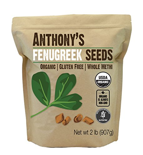 Anthony's Organic Fenugreek Seeds,...