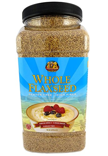 Premium Gold Whole Flax Seed | High...