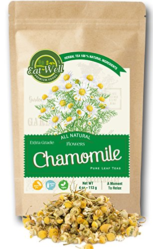 Chamomile Flowers Tea | 4 oz...
