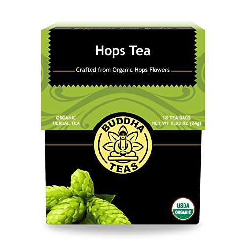 Organic Hops Tea - Kosher, Caffeine...