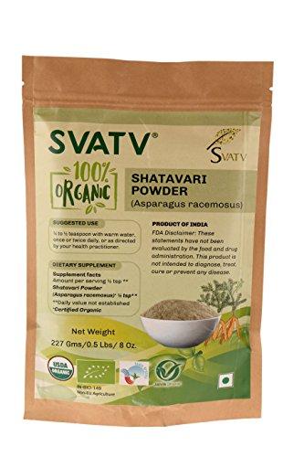 SVATV Organic Shatavari Powder II...