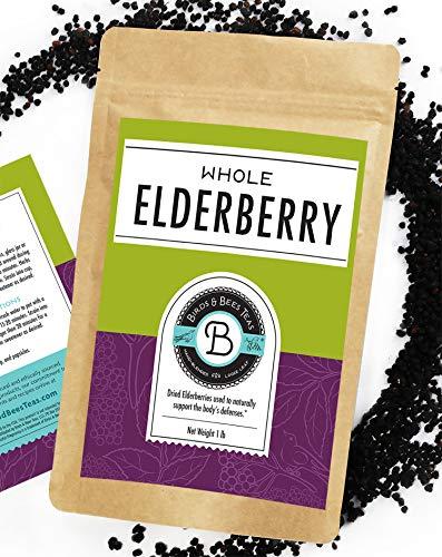 Elderberries Dried Organic - 1 lb...