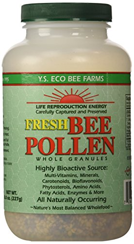 Y.S. Organics Fresh Bee Pollen...